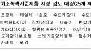 인조잔디 등 '최소녹색기준제품 지정' 공청회 개최